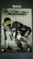POSTER TOM CLANCY'S SPLINTER CELL BLACKLIST NEUF