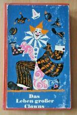Leben großer Clowns J. Grimaldi A.Durow W. Walker Grock Ch. Rivel Karandasch