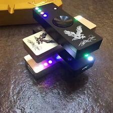 NEW LED Flash Light Alloy Tri-Spinner Hand Spiner USB Cigar Lighter Random Color