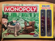 Monopoly Board Game Classic Value Edition with BONUS 16 Different TOKENS