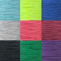 95 LB Type 1 Paracord Single Strand 2 Ply Cord Various Colors 10, 25, 50, 100 FT
