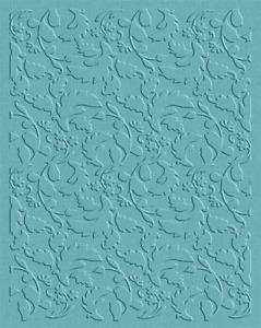 QuicKutz Lifestyles Crafts  A2 Embossing Folder VINE Pattern ~  EF-A2-060
