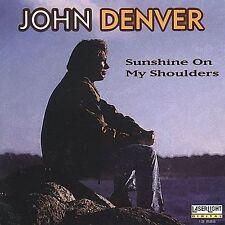 JOHN DENVER Sunshine on My Shoulders:CD Like New