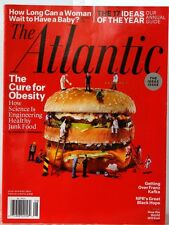 The ATLANTIC Magazine IDEAS ISSUE Cure for OBESITY How WORLD Will END