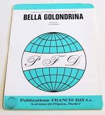 Partition vintage sheet music YVETTE HORNER : Bella Golondrina * Accordeon