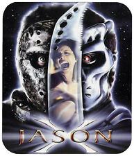 JASON X MOUSE PAD FRIDAY THE 13TH 1/4 IN. TV HORROR MOVIE MOUSEPAD