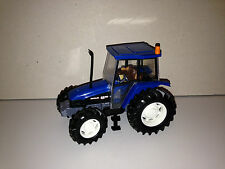 JOUET AGRICOLE TRACTEUR BRITAINS NEW HOLLAND 6635 FORD 1/32 MIN000067