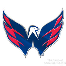 Washington Capitals Raised 3D COLOR Metal Auto Emblem Home Decal NHL Hockey