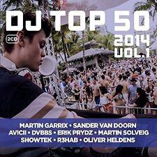 DJ TOP 50 2014 VOL.1 2 CD NEW+
