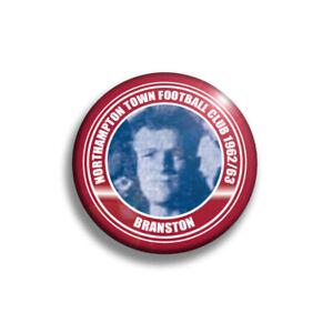 Northampton Town 1962/63 team badges x13