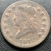 1812 Large Cent Classic Head One Cent 1c Rare Better Grade #17719