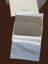 Rolex Slim Gray Business Card Wallet  - Brand New In Original Box!!