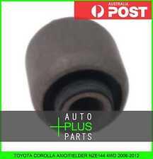 Fits TOYOTA COROLLA AXIO/FIELDER NZE144 4WD Rubber Suspension Bush For Rear Arm