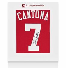 More details for eric cantona signed manchester united shirt - home 2019-2020 - gift box