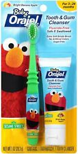 Baby Orajel Tooth & Gum Cleanser with Toothbrush Apple Banana Flavor 1 Oz - 1 Pk