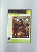 CONFLICT VIETNAM - ORIGINAL XBOX GAME - FAST POST - COMPLETE WITH MANUAL - VGC