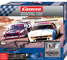 "Carrera Digital 132 ""80' Flashback"" Rennbahn"