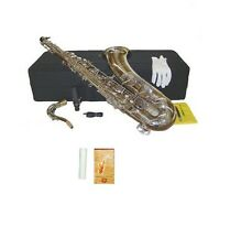 NEW Merano B Flat Silver Nickel Tenor Saxophone,Case Student to Intermediate