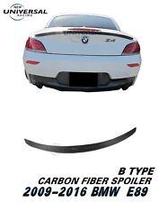 Carbon Fiber Rear Trunk Spoiler Lip Wing for 2009-2016 BMW E89 Z4