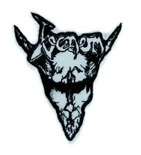 Venom Black Metal Patch Iron on Applique Alternative Clothing Heavy Music
