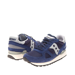 SAUCONY Sneakers EU 44 UK 9 US 10 Contrast Leather Mesh Trim Perforated Laces