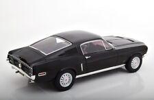 Ford Mustang Fastback 1968 schwarz diecast 1:12 Norev 122700