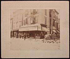Original Vintage Photo Grocery Store Geo. C. Mason Grocer