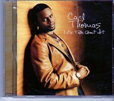 (EK345) Carl Thomas, Let's Talk About It - 2004 CD