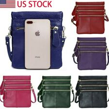 Womens Lovely Mini Crossbody Cell Phone Shoulder Strap Wallet Pouch Bag Small US