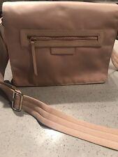 Longchamp Le Pliage Nylon Messenger Bag In Beige