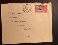 1935 Silver Jubilee Cover Grenada To England