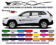 RUNAWAY (Horse) DECAL GRAPHICS for Car, SUV & Pickup Trucks - FREE SHIPPING