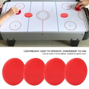 4Pcs Air Ice Hockey Pucks Piece Replaceable for Tables Game Room Equipment Kit