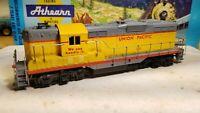 Athearn Union Pacific gp9 Switcher Locomotive train engine HO
