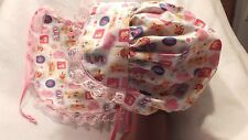 Adult Baby Sissy Bonnet and Bib Set Tweedy Bird