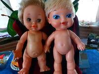au choix,, poupées famosa et laflex des ans 60   et 70