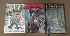 League of Extraordinary Gentlemen Volumes 1 & 2 + Black Dossier Alan Moore