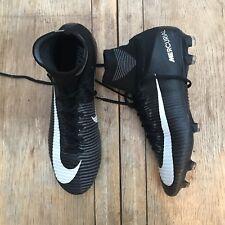 Nike MERCURIAL VAPOR SUPERFLY V FG UK 11 CAMPIONE Nike ID prova in bianco nero grigio