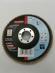 Metabo Flap Disc 125mm P40 F-ZK, F