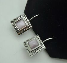 bohemian style square purple color cat eye dangle fashion jewelry earrings 202B