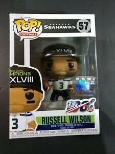 RUSSELL WILSON Funko Pop! #57 SUPER BOWL XLVIII CHAMPIONS  Seattle Seahawks