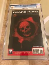 Gears Of War 1 CGC 10.0 GEM MINT Crimson Omen Cover BASED ON XBOX 360 VIDEO GAME