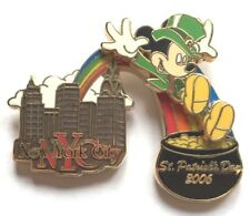 Disney Pin Badge NYC WOD - St. Patrick's Day 2006 (Mickey Mouse)