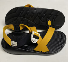 Chaco Z1 Mens Size 10 Never Worn! VIBRAM Yellow Gold Unasweep Sandals Classic