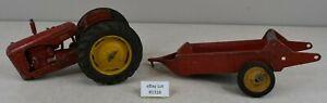 (Lot #1316) 1/20 Vintage Reuhl Farm Toy Massey Harris 44 Tractor for Parts