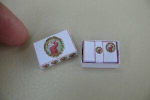 1/12th dolls house - CHRISTMAS STYLE WRITING PAPER & ENVELOPE SET - SG