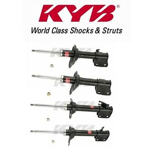 Set of 4 KYB GR2 Struts Shocks Fits Subaru WRX Wagon 2002-2003