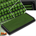 For 95-05 Chevy Blazer 4.3 Reusable Multilayer High Flow Air Filter Panel Green
