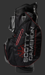 2020 Scotty Cameron Explorer Cart Bag Black/Gray/Red Circle T CT Milled Putters