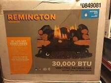"Remington 18"" Smokey Mountain hickory 30,000 BTU natural gas 0849081 vent-free"
